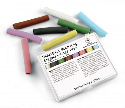 keramikbedarf.net Onlineshop - UGS10 - Unterglasurkreiden - Set, 8 ...